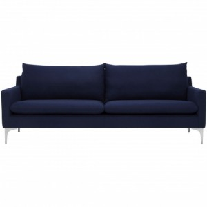 Anders Blue Fabric Sofa