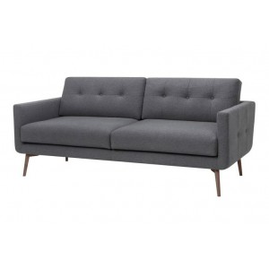 Ingrid Fabric Sofa with Tufted Cushions