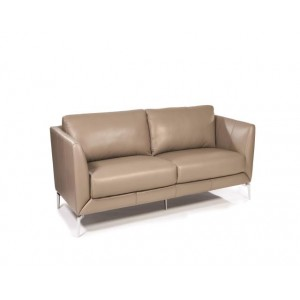 Adobe Leather Loveseat