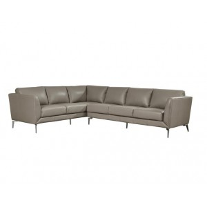 Adobe Leather Sectional