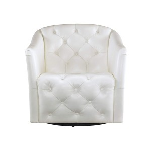 Tufted Swivel Tub Chair
