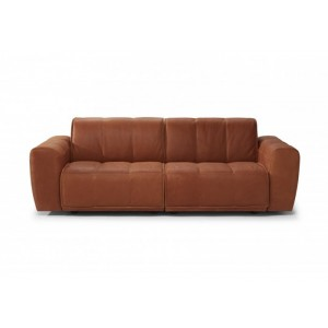 Full Grain Italian Leather Loveseat