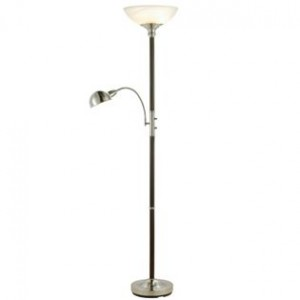 Combo Wood Floor Lamp