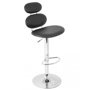 Three Piece Padded Bar Stool