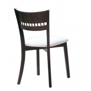 Dining Chair With Curved Back