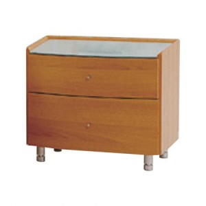Rounded Front Nightstand