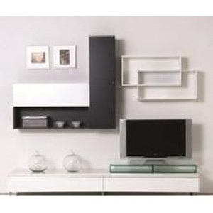Double Wall Shelf (Right Unit)
